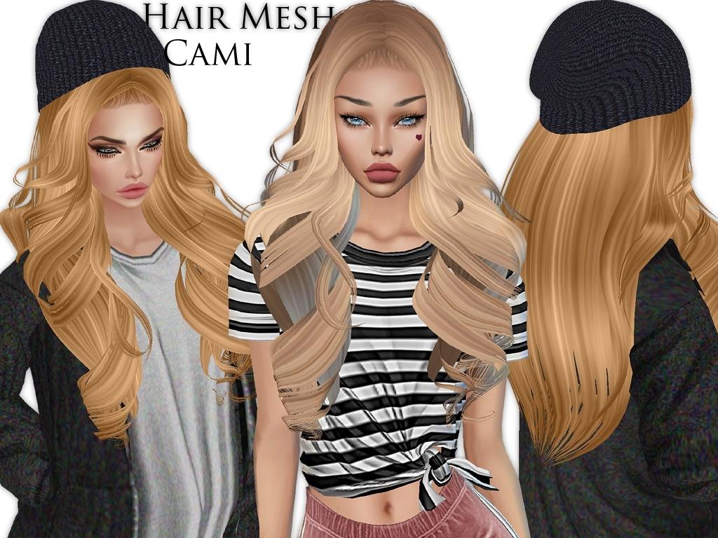 IMVU Mesh - Hair - Cami