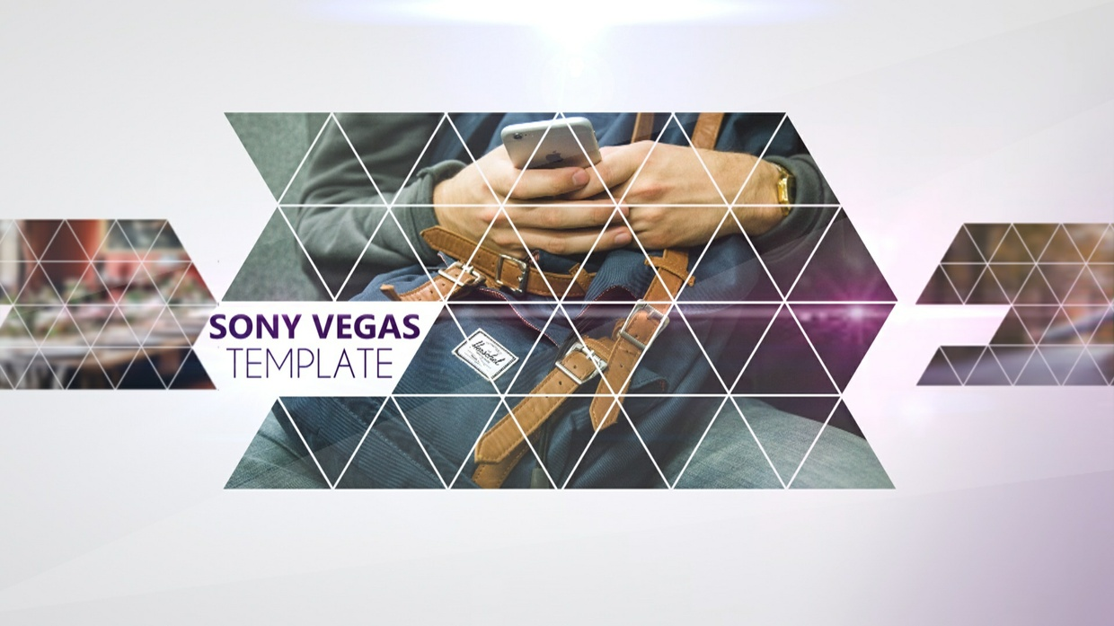 sony vegas free project templates - template triangles motion sony vegas 12 13