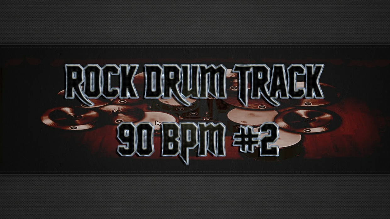 Rock Drum Track 90 BPM #2 - Commercial