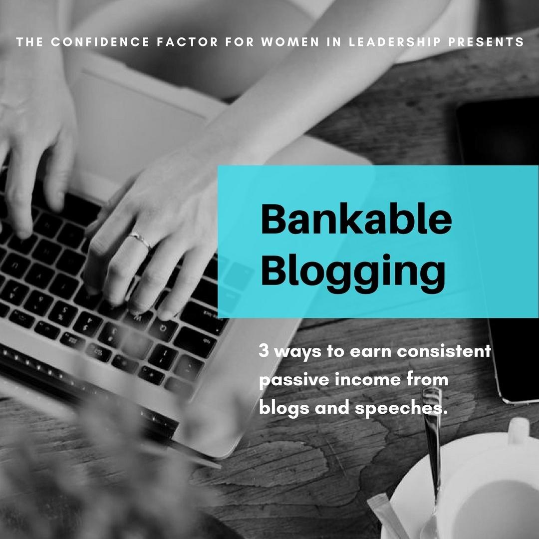 Bankable Blogging