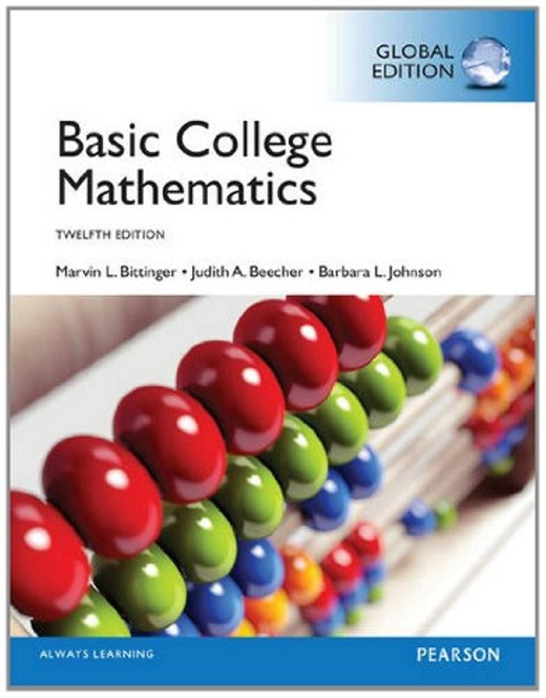 Basic College Mathematics, 12th edition (  Global Edition )  ( PDF, Instant download )