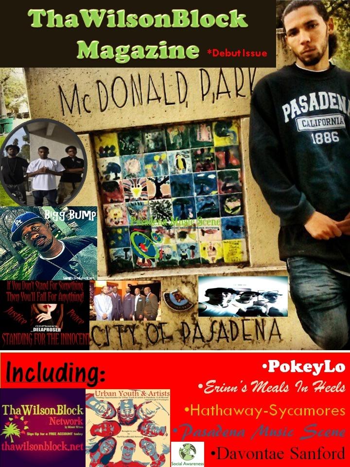 "ThaWilsonBlock Magazine Debut Issue ""McDonald Park"""