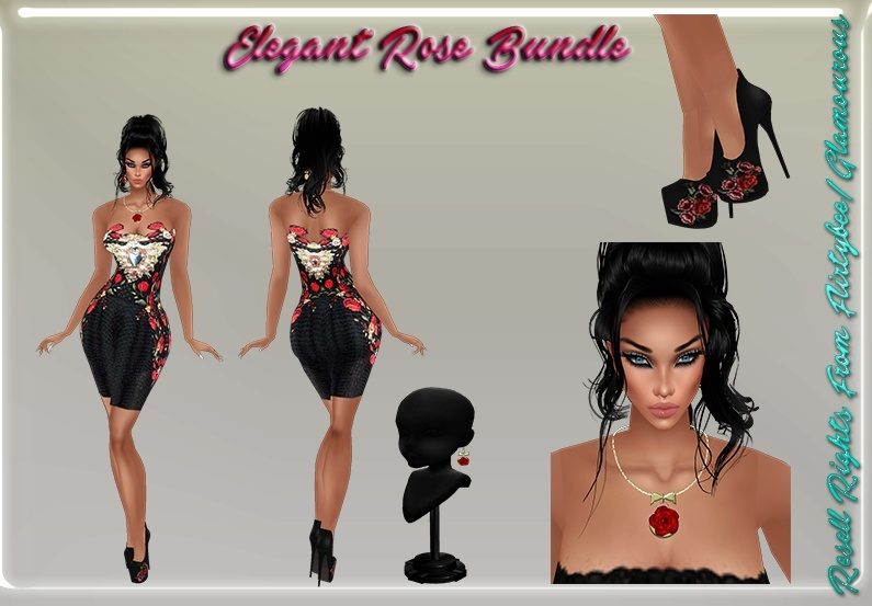 Elegant Rose Bundle Catty Only!!!