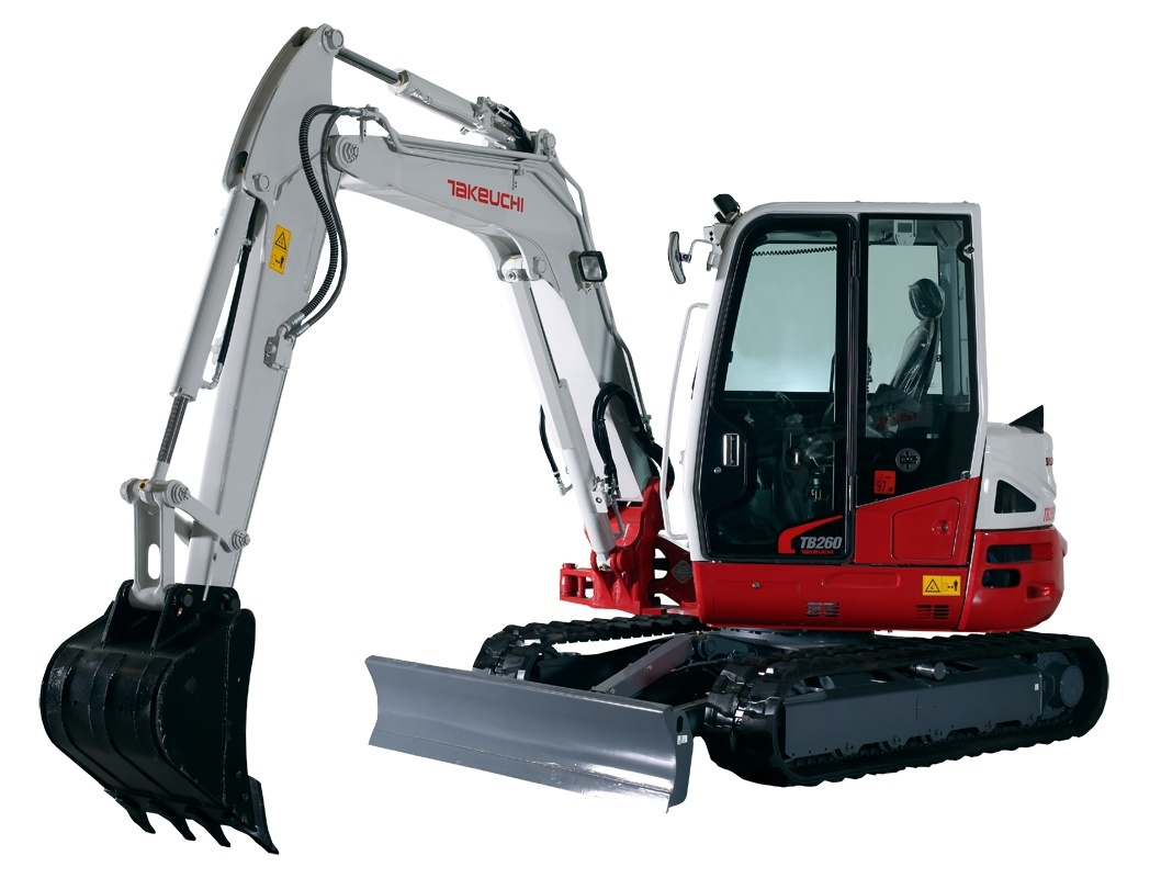 Takeuchi TB235 Mini Excavator Service Repair Workshop Manual Download(S/N:123500004 & Above)