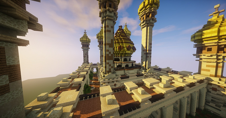 Minecraft / KitMap Spawn / Desert theme