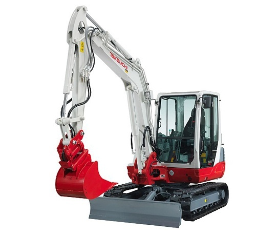 Takeuchi TB250 Mini Excavator Service Repair Workshop Manual Download(S/N:125000004 & Above)