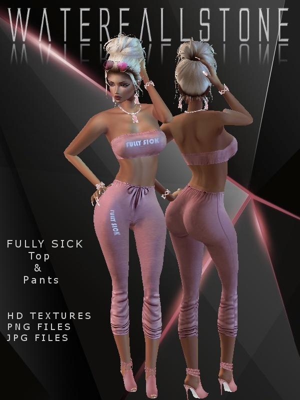 Fully Sick Top&Pants