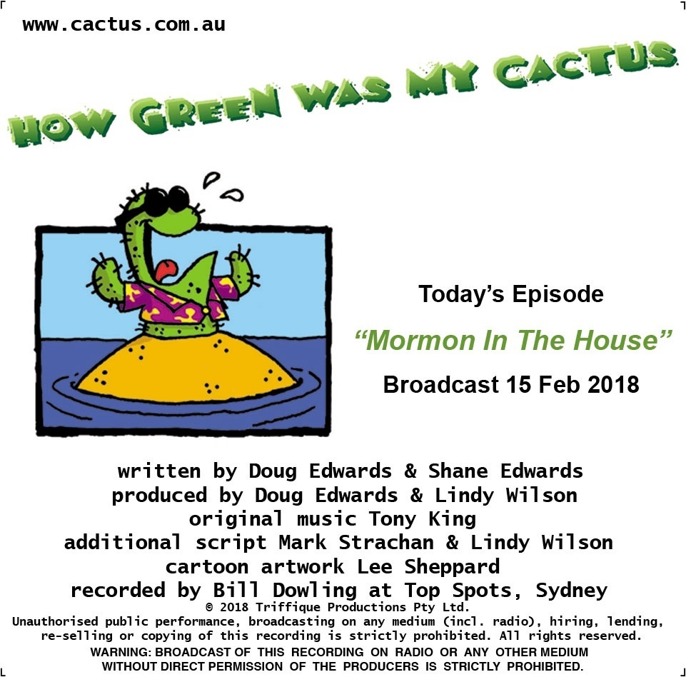 MORMON IN THE HOUSE (15.2.18)