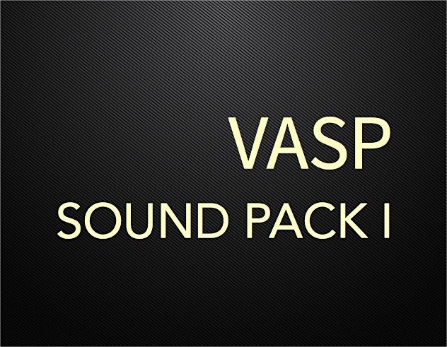 VASP Sound Pack I Part II (Win 64bit Version)