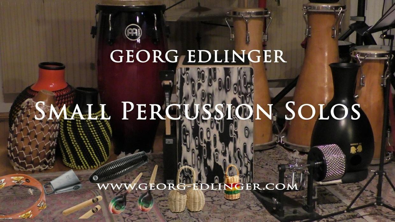 Small Percussion Solos - Cabasa