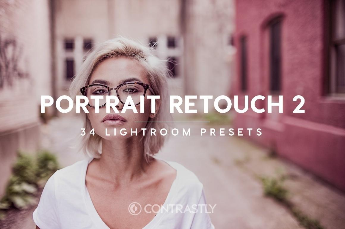 Portrait Retouch Lightroom Presets Vol.2