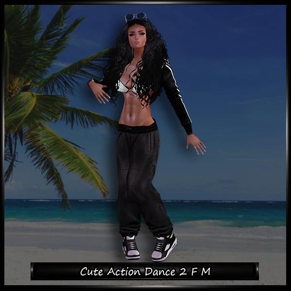 Cute Action Dance 2 Female Male