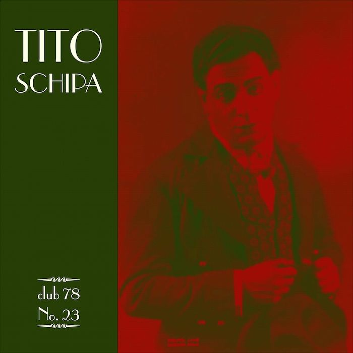 Tito Schipa * club 78 No. 23