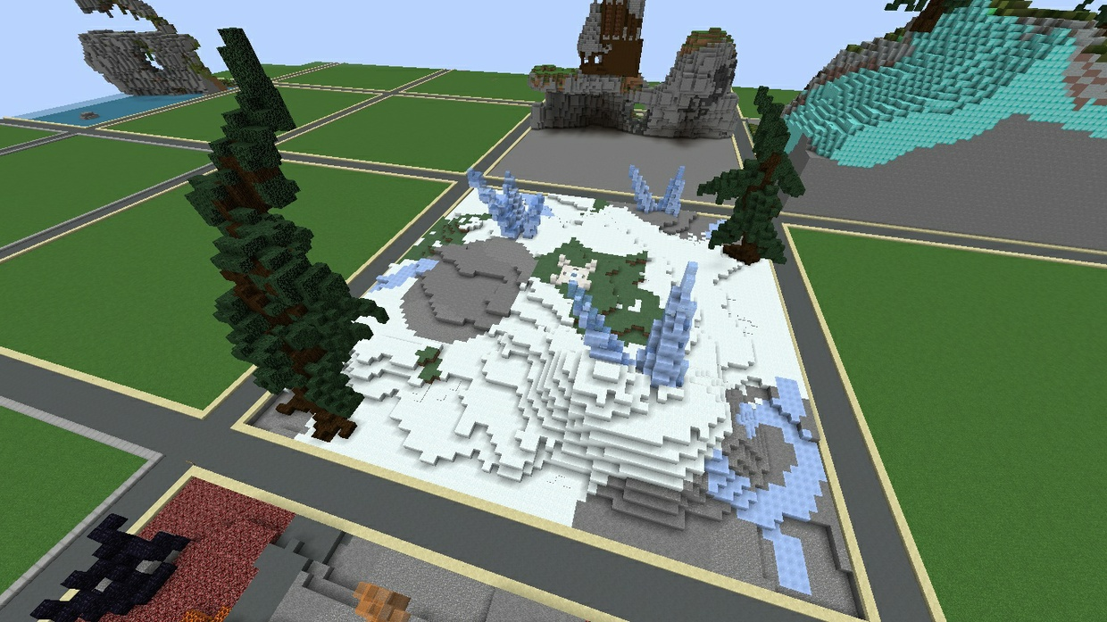 Fire and Ice KOTH Pack