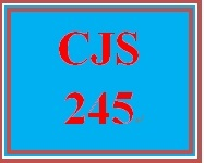 CJS 245 Week 4 Juvenile Offender Assignment