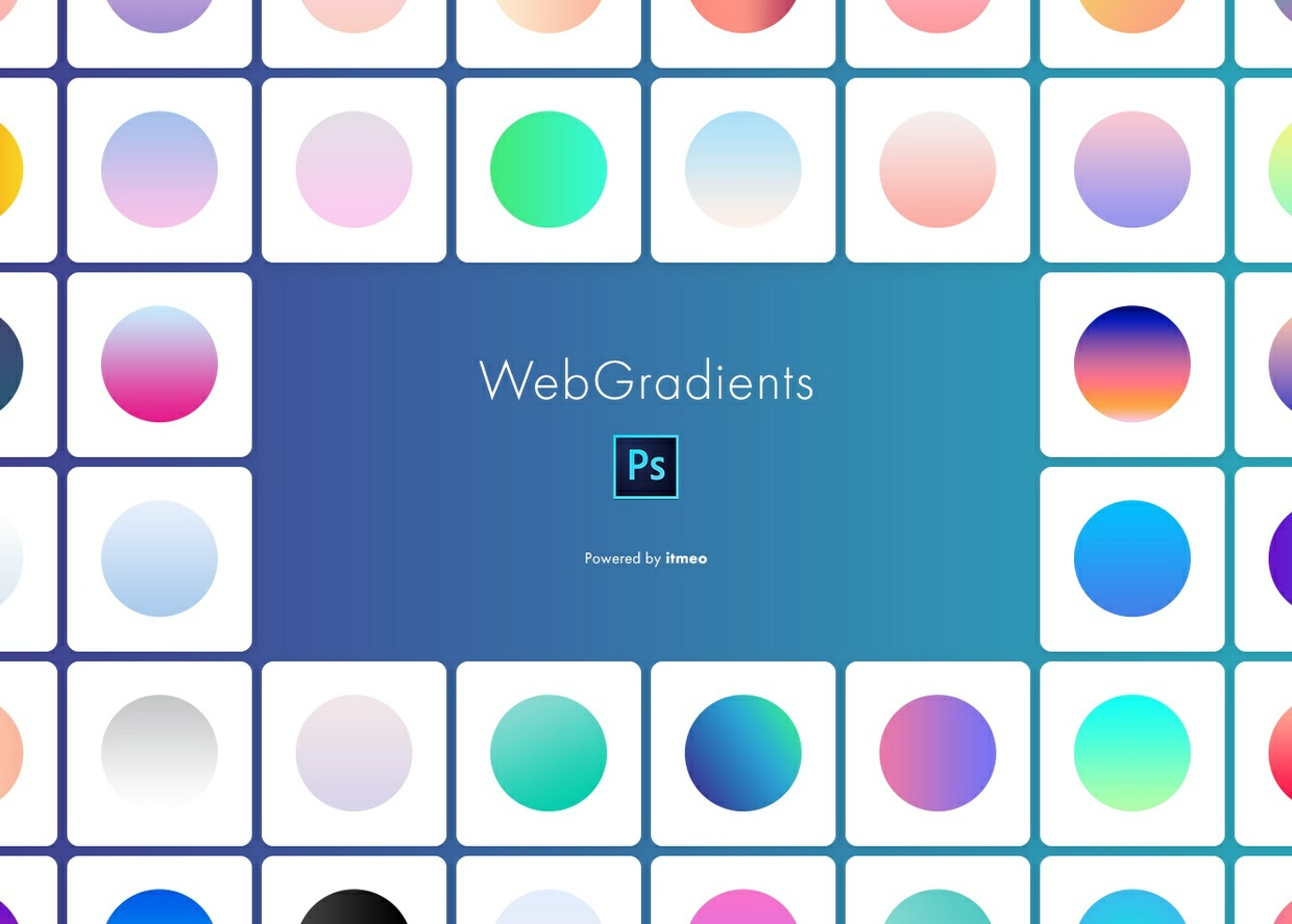 Web Gradients for Photoshop