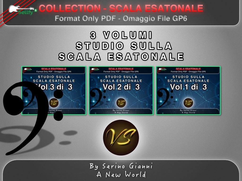 COLLECTION 3 VOLUMI - STUDIO SULLA SCALA ESATONALE - FORMAT PDF (IN OMAGGIO FILE GP6)