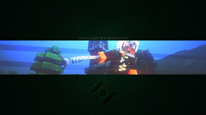 Minecraft 2048 X 1152 Banner