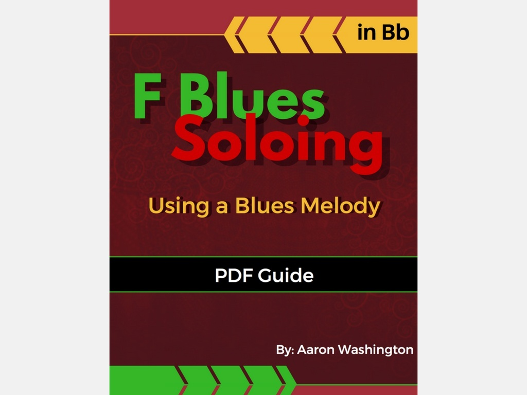 F Blues Soloing: Using a Blues Melody