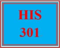 HIS 301 Week 4 FIRAC Worksheet