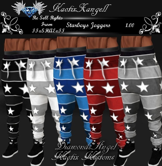 Starboys Joggers