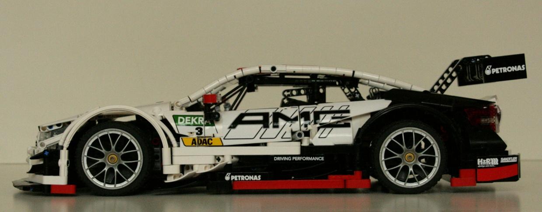 "Lego Technic MOC Mercedes-Benz AMG C63 DTM - bodywork ""AMG"""