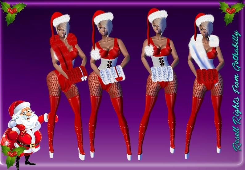 Latex Santa Bundle Catty Only!!!!