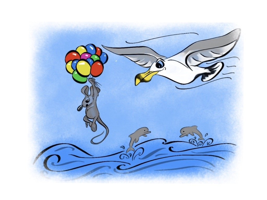 The Adventure of the Seagull and the Mouse