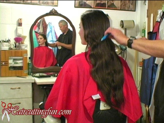 Elizabeth's Long Hair to Inverted Bob to Pixie Haircut - VOD Digital Video Download