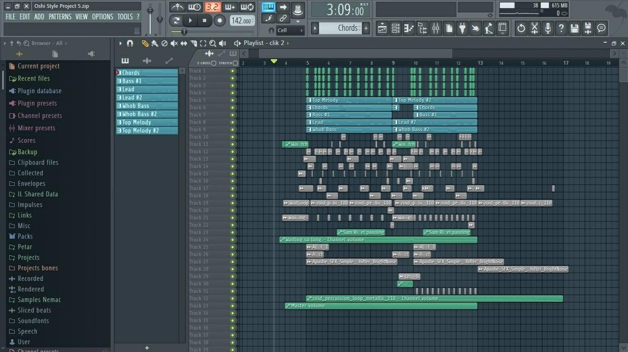 Oshi Style Project 5 (+FLP)
