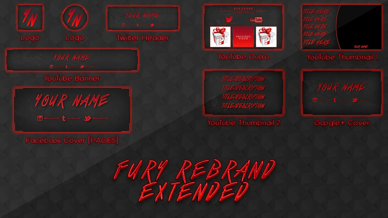 Fury Rebrand/Revamp Template [EXTENDED]