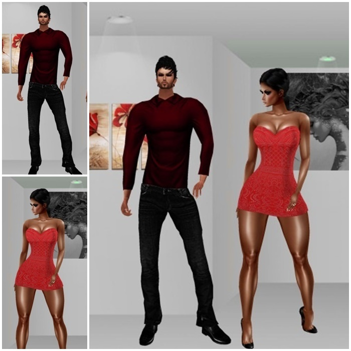 NEW [H] 5 Female sets and 5 Men's set of Clothes