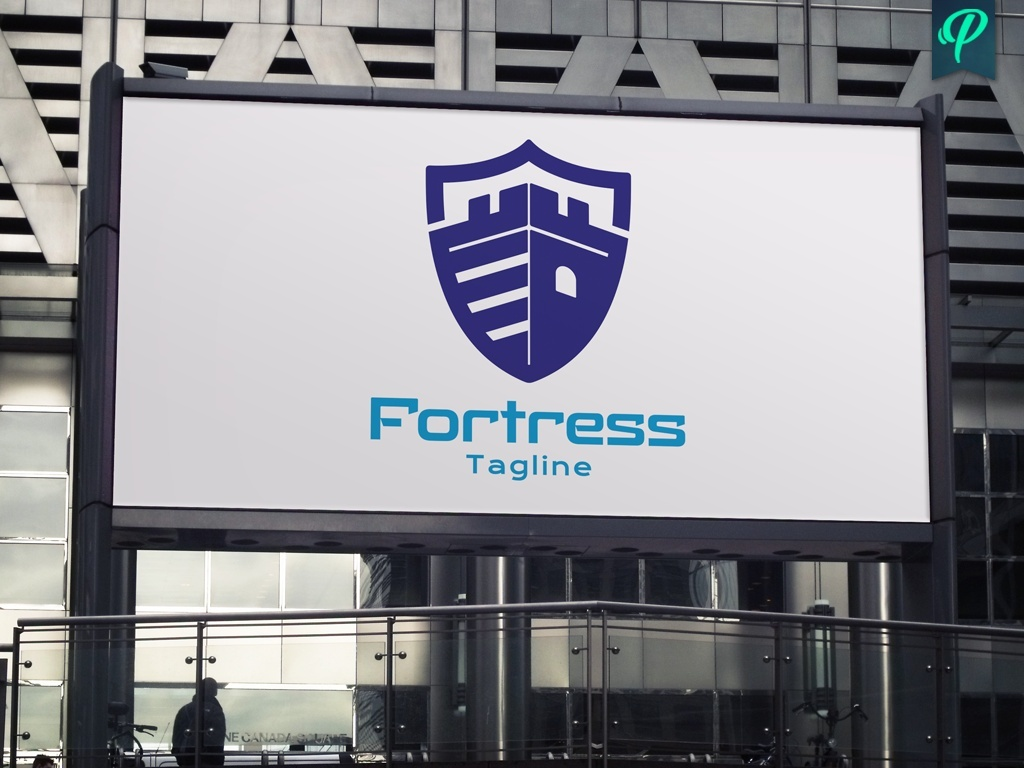 Fortress Logo Template