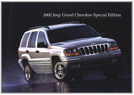 JEEP GRAND CHEROKEE 2002 4.0L 4.7L 2.7L DIESEL FACTORY MANUAL