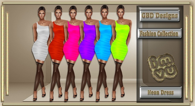 Neon Dress CATALOG ONLY!!