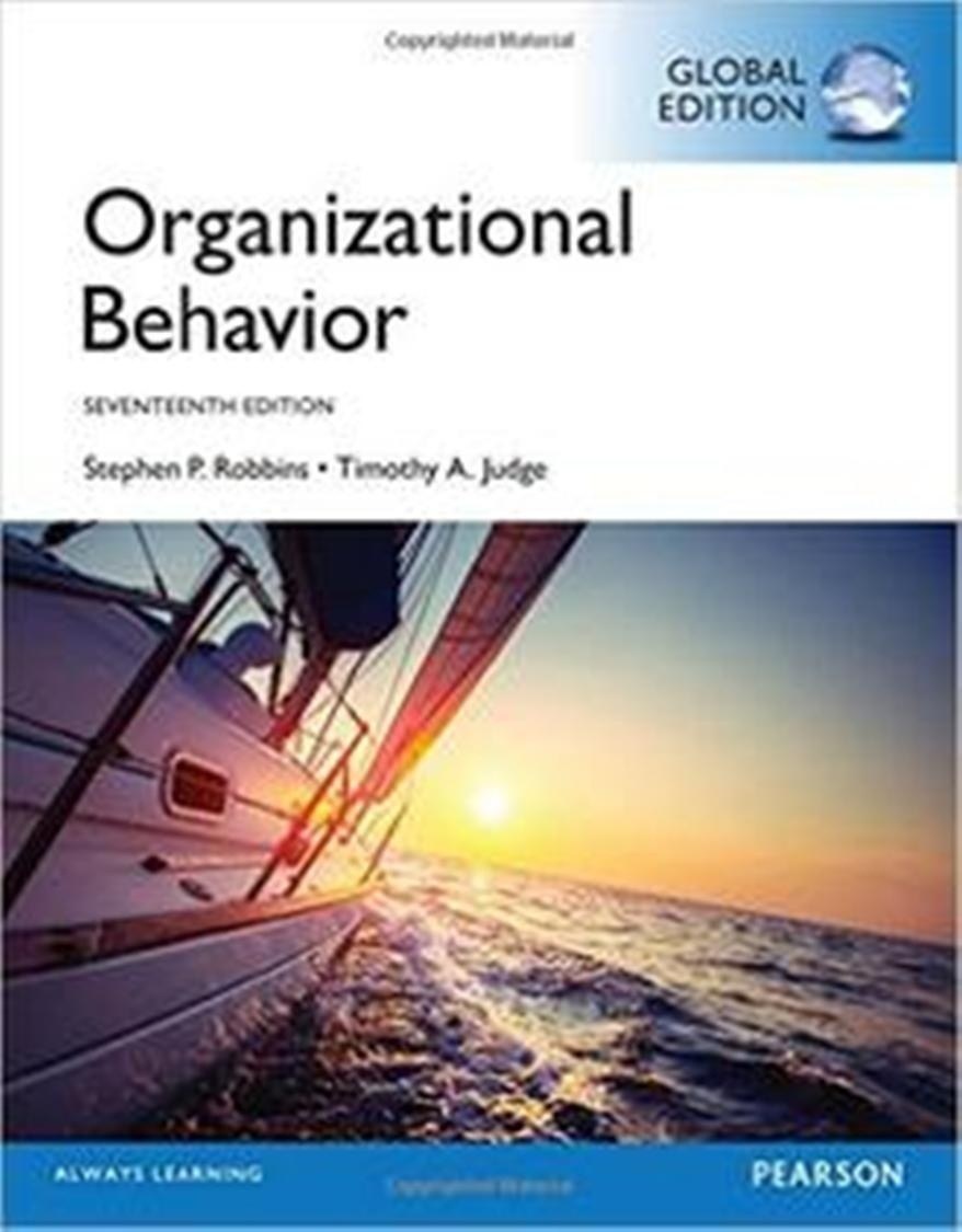 Organizational Behavior, 17th Edition ( Global edition )  ( PDF , Instant download )