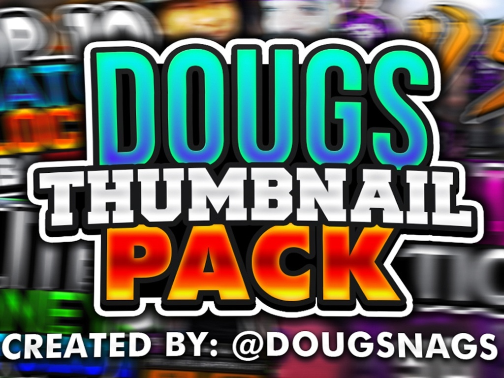 DOUGS NBA 2K18 THUMBNAIL PACK