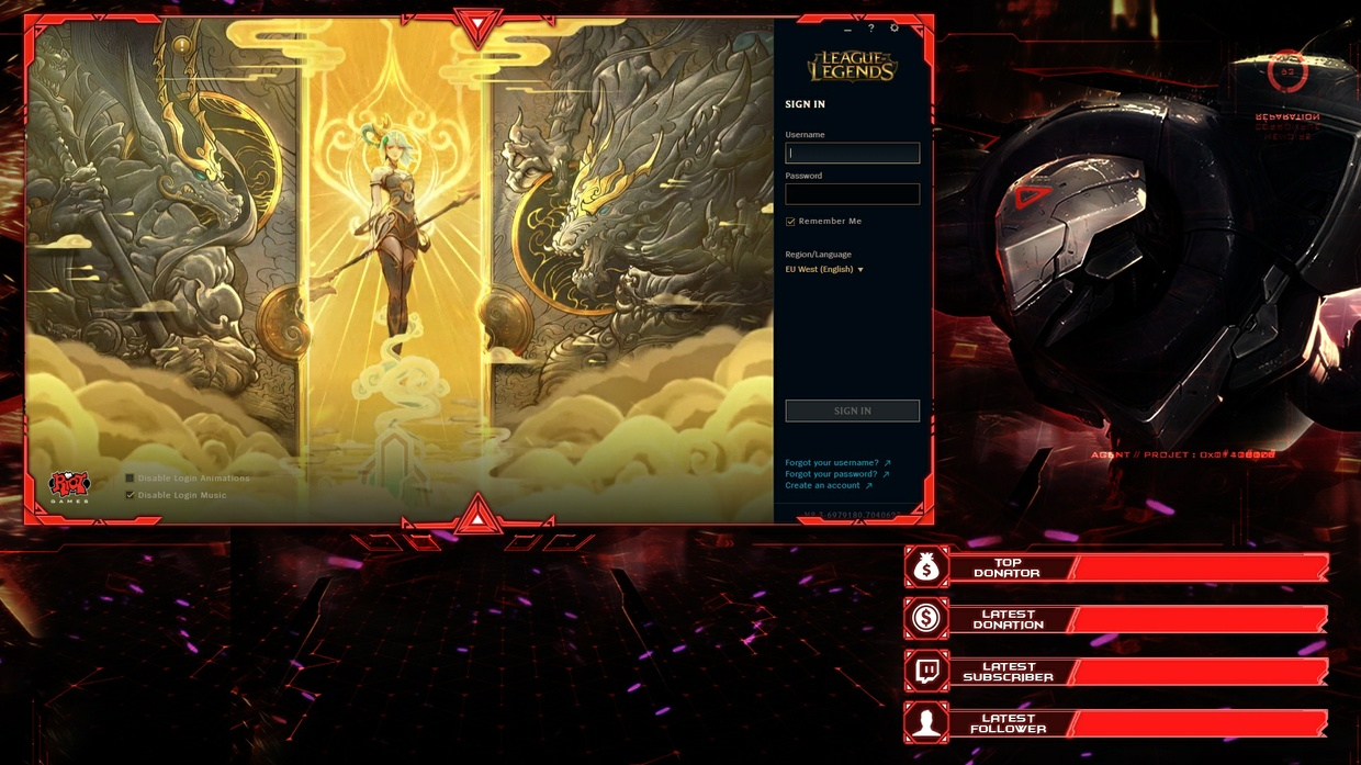 PROJECT ZED - CLIENT OVERLAY