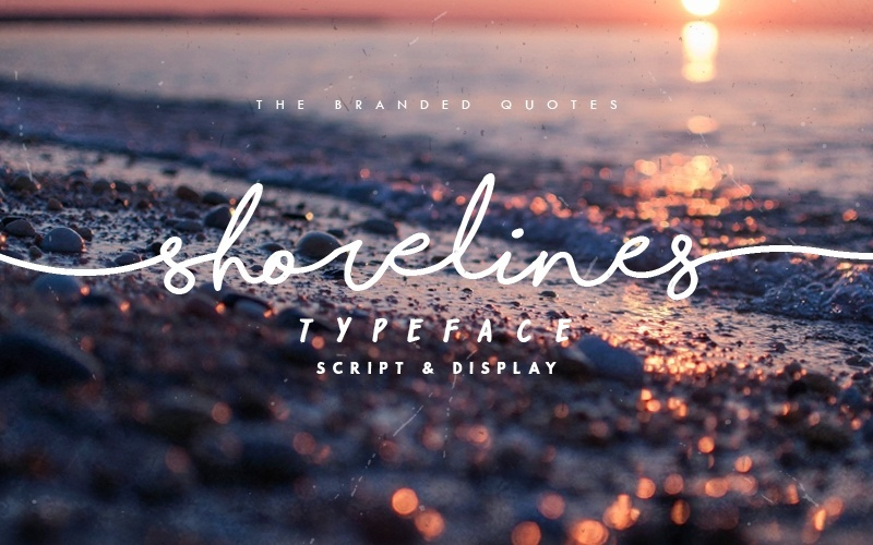 Shorelines Typeface