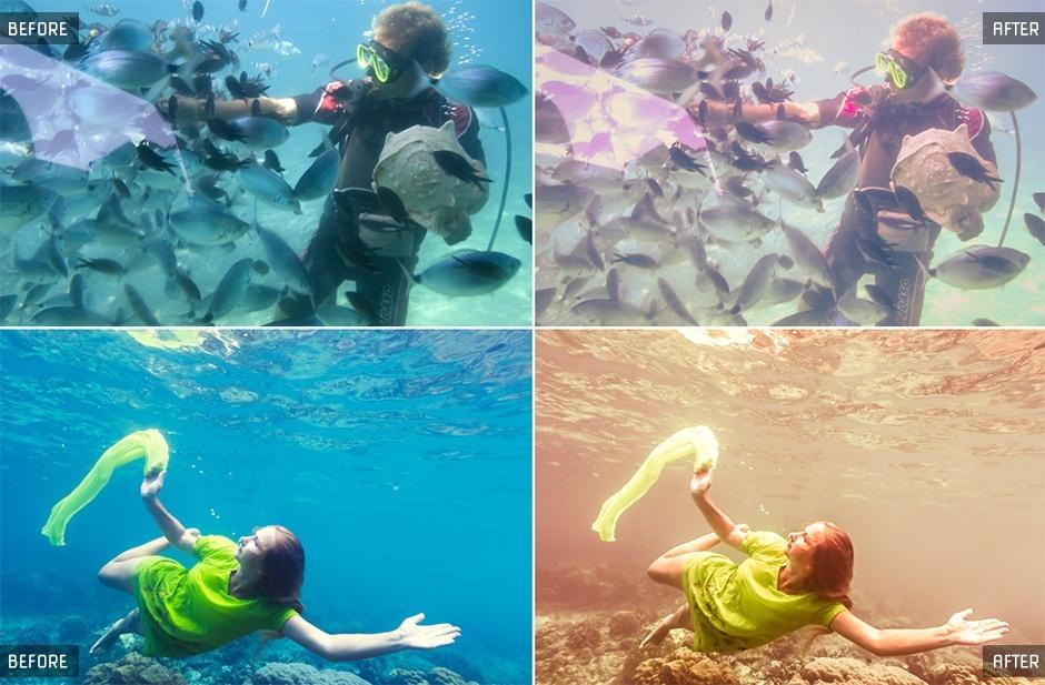 Underwater Lightroom Presets