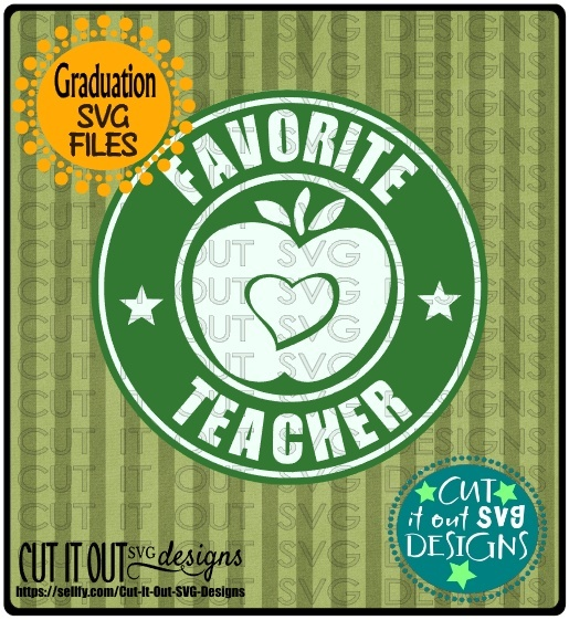 Favorite Teacher Starbucks Logo Design 3
