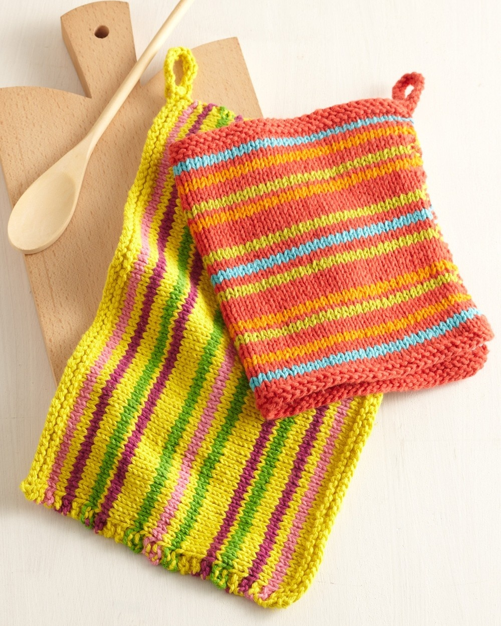 Knit Kitchen Dishcloths