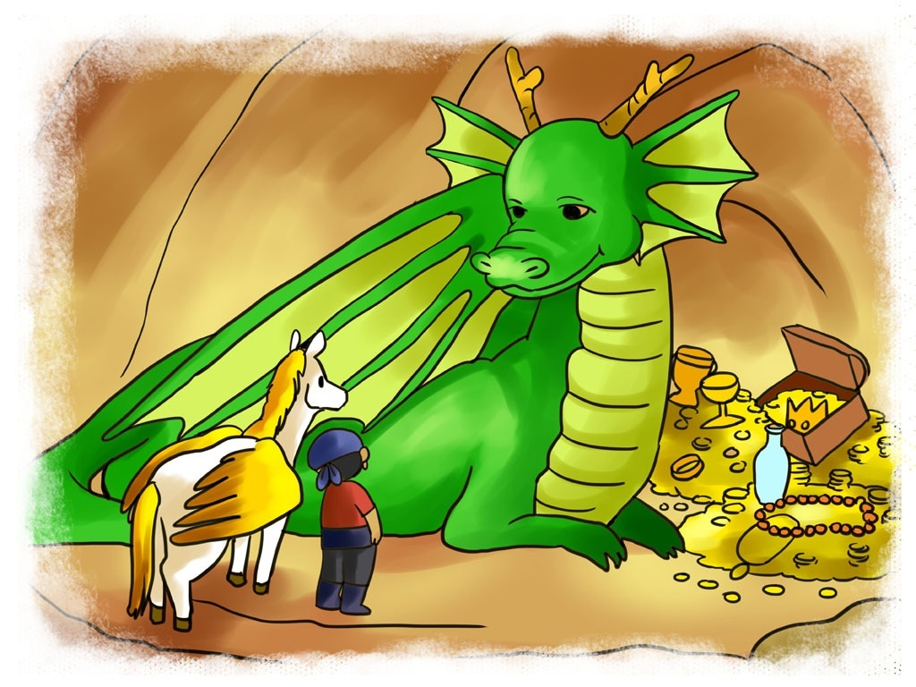 Percy and the Dragon's Tear