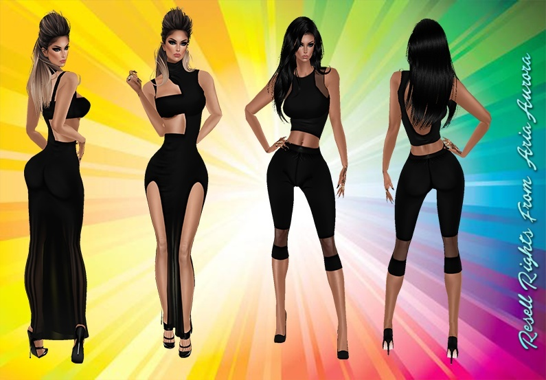Black Dress & Outfit Bundle