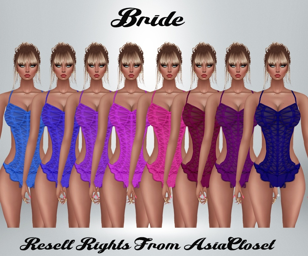 Bride Catty Only!!! RL, RLL, RLS SIZES