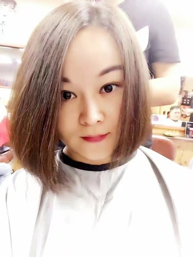 Excellent dancer's haircut