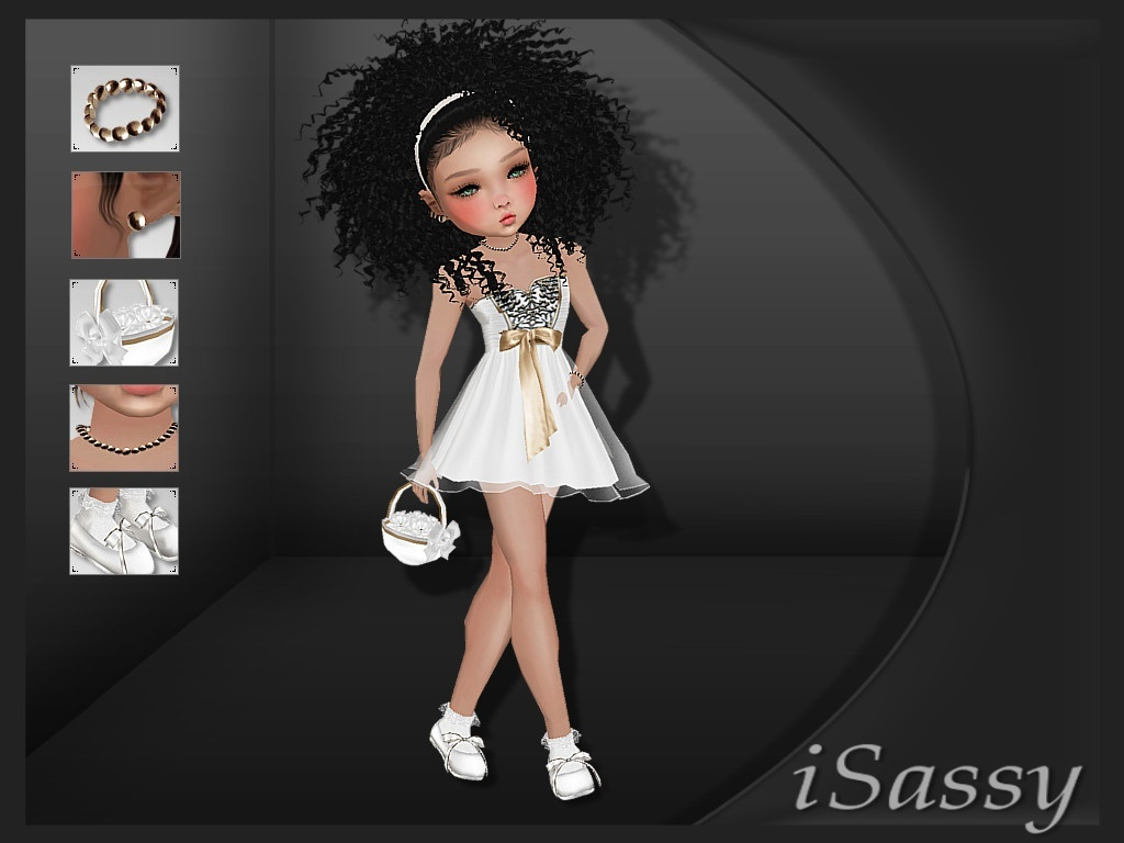 Flower Girl Fit 2 - PNG