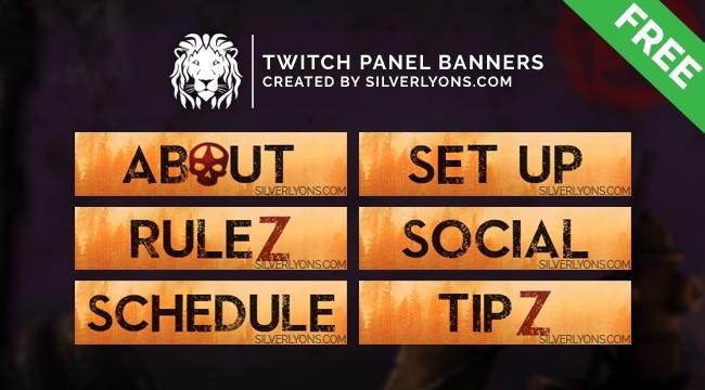 H1Z1 KotK Cover Twitch Panels