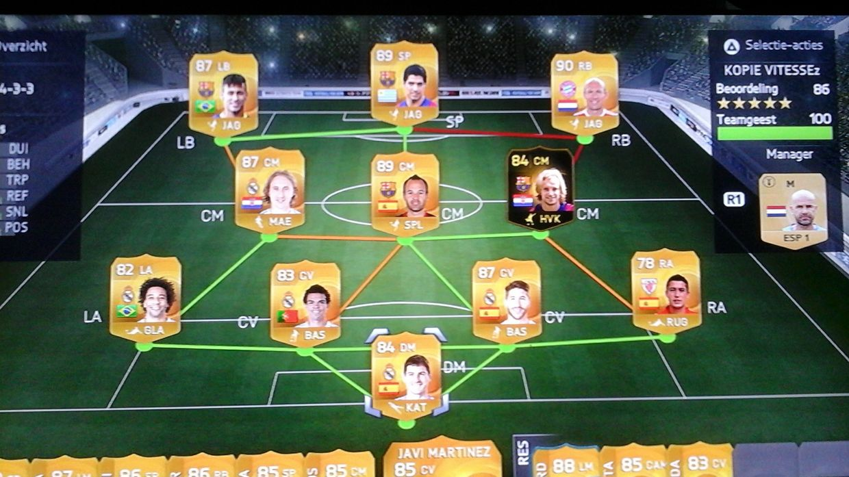 FIFA 15 ACCOUNT WORTH 2MILL