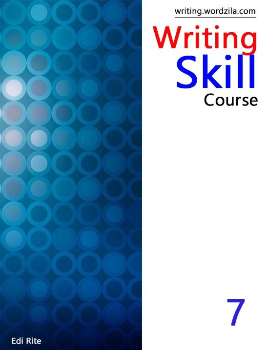 Writing Skill Grade 7